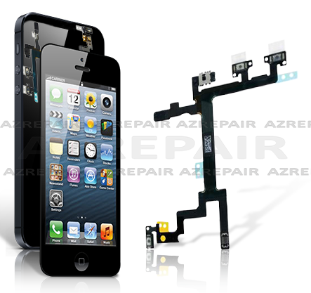 iPhone 5 Power Mute Volume  Button Repair